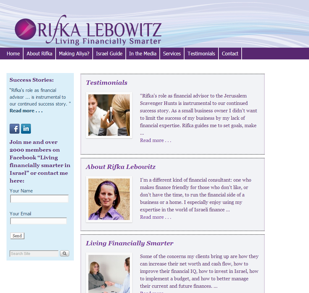 Rifka-Lebowitz-Site